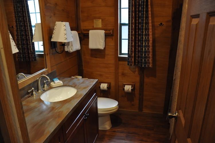Fort Wilderness Cabin Bathroom