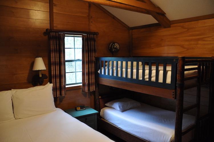 Fort Wilderness Cabin Bedroom