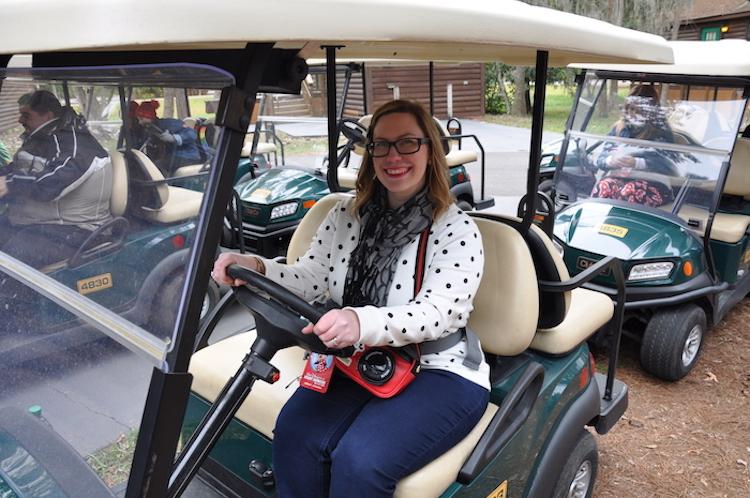 Fort Wilderness Cabin golf cart