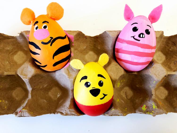 Hundred Acre Woods Easter Eggs