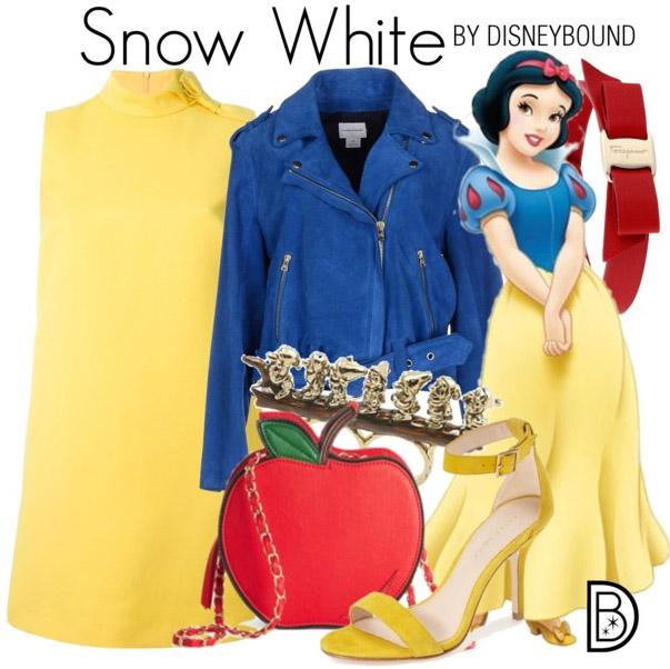Snow White DisneyBound Leslie Kay