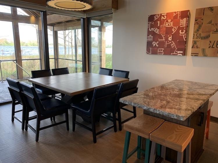 Wilderness Lodge Cascade Cabin dining room