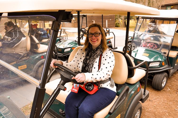 fort wilderness golf cart