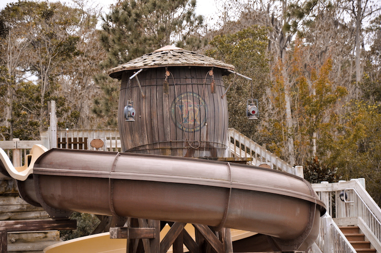 fort wilderness river country tower