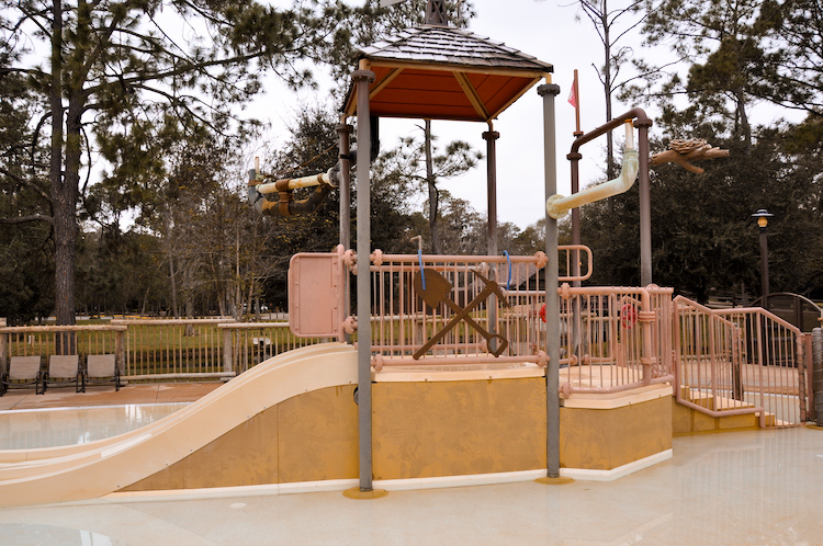fort wilderness water play