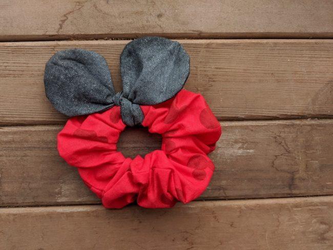Minnie ear Scrunchies