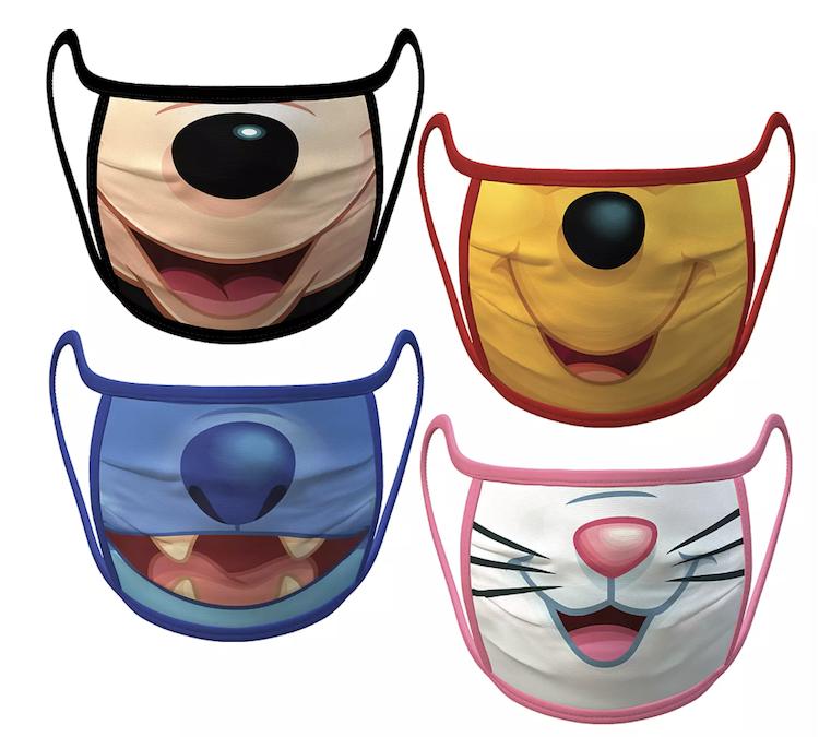Disney Faces Face Mask