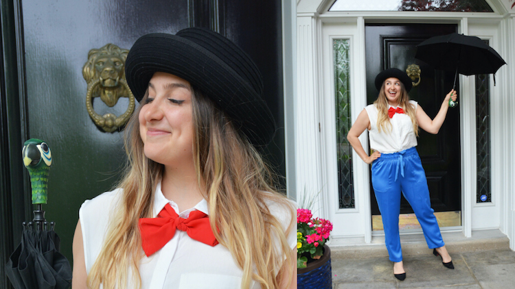 Mary Poppins DisneyBound Collage