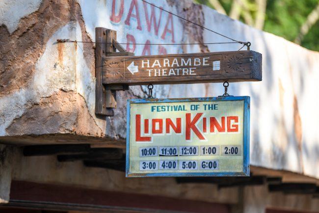 Lion King harambe theatre