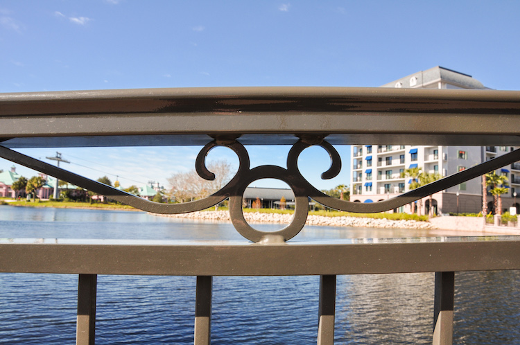 riviera resort hidden mickey