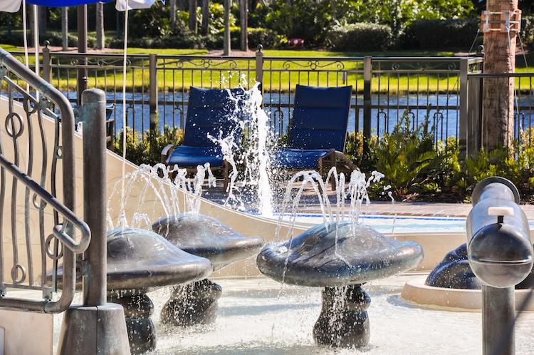 riviera resort splash pad