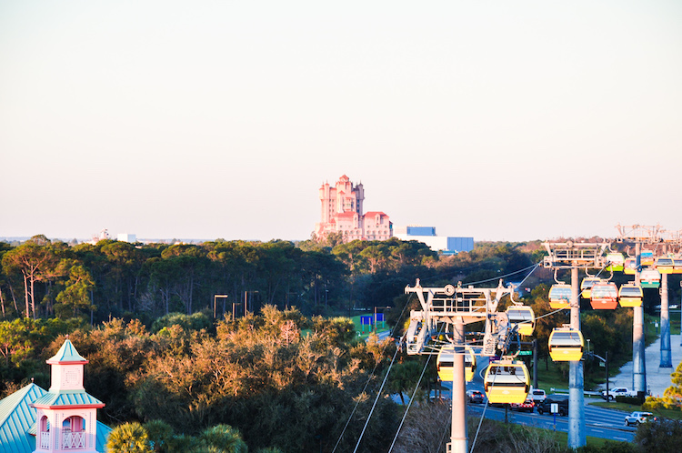 riviera resort view of dhs