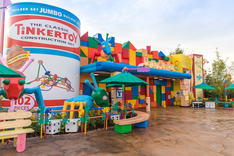 Toy Story Land Facts