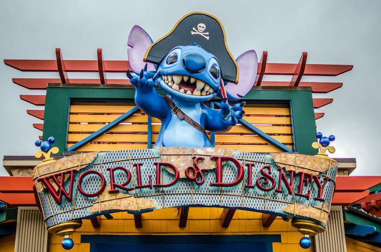 world of disney reopening cliff