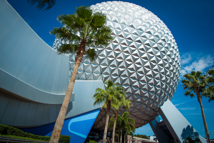 today in disney history epcot what epcot looks like