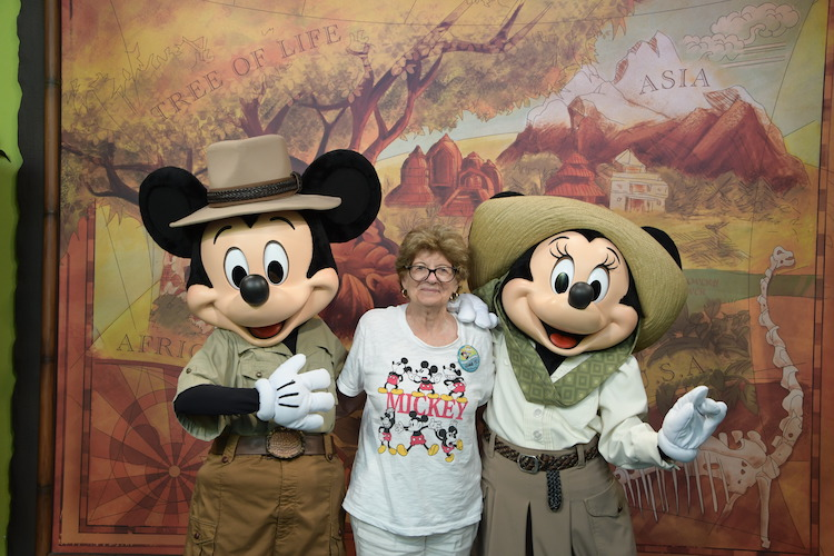 Mickey and Minnie Animal Kingdom