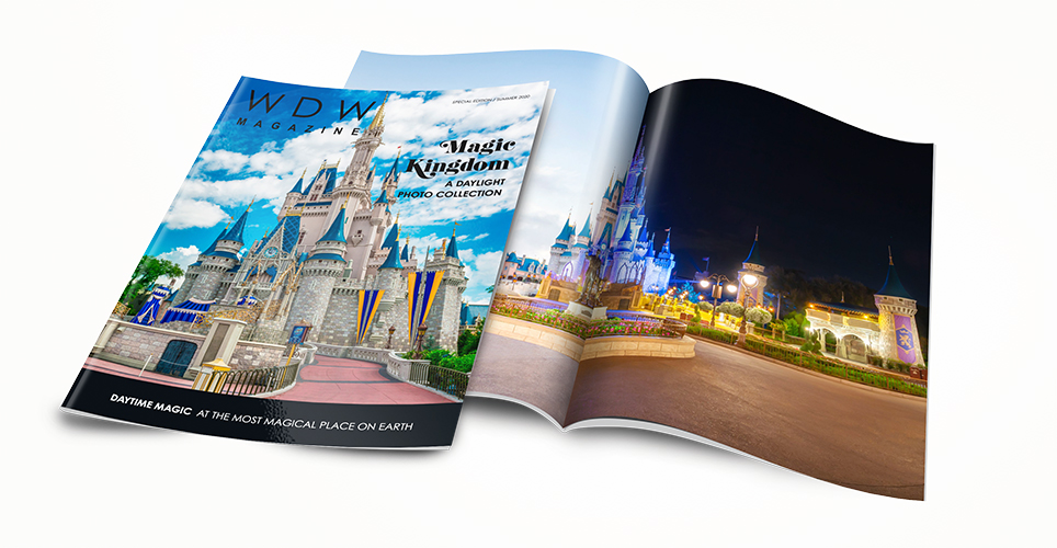 The Magic Kingdom Day & Night Photo Collection edition of WDW Magazine