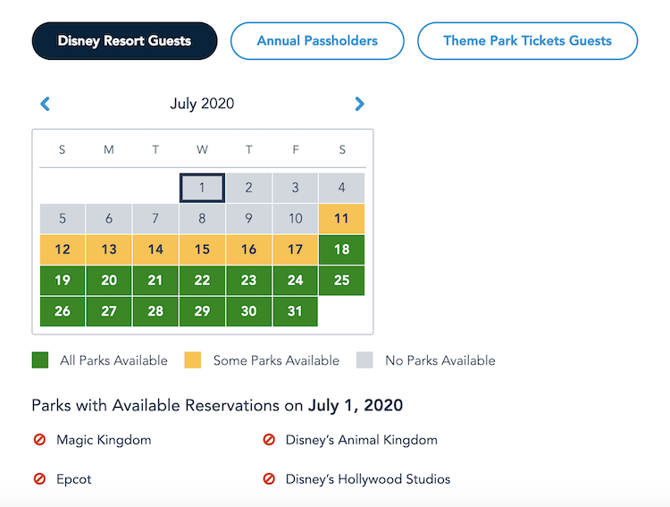 park reservations open on June 23rd