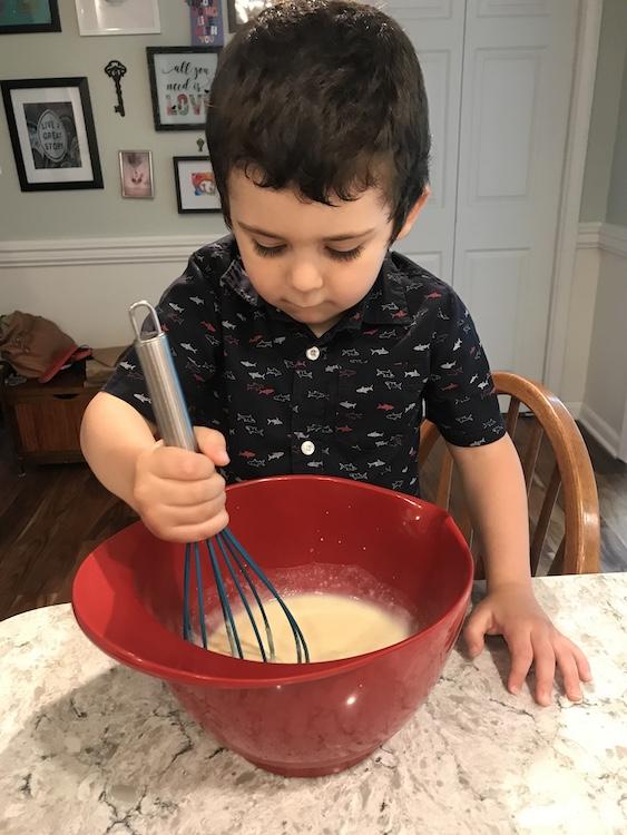 Stirring grey stuff recipe