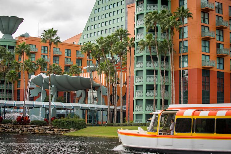 Boat at Swan & Dolphin