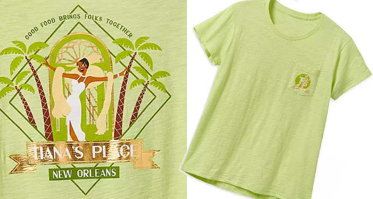tianas place t-shirt princess and the frog styles