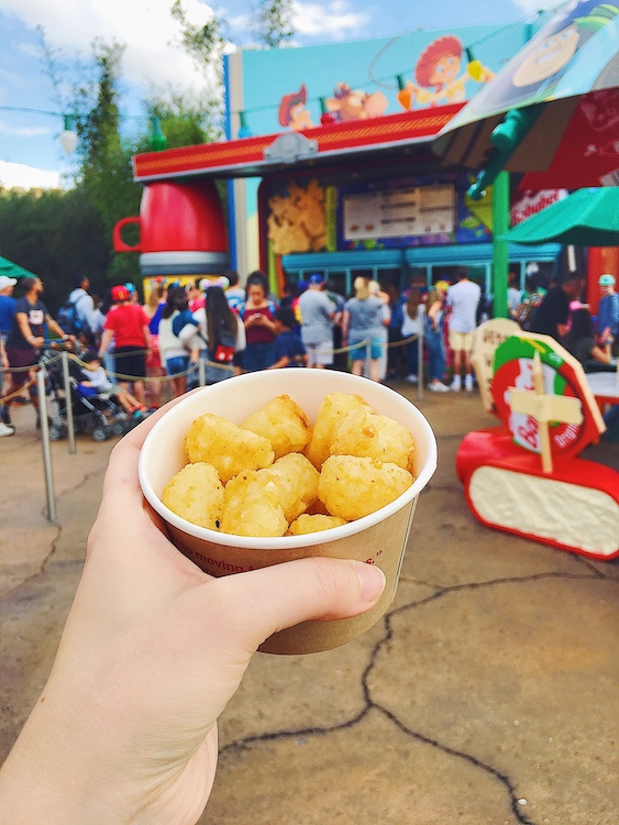 Tater Tots at Toy Story Land
