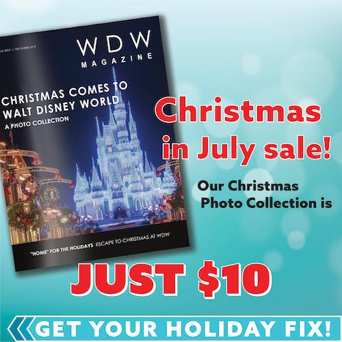 Disney World Christmas in July