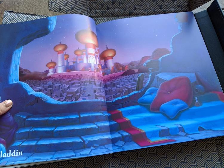 Aladdin in Codeillusion magic book