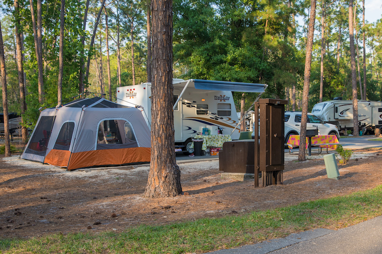 Campgrounds at Fort Wilderness underrated disney world resorts