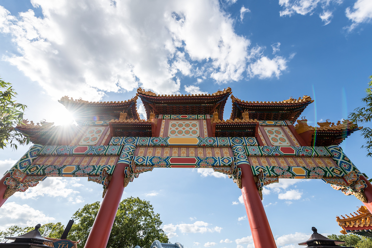 The china pavilion