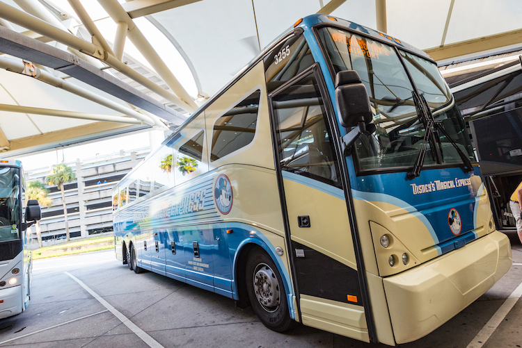 Disney's Magical Express Bus Parked