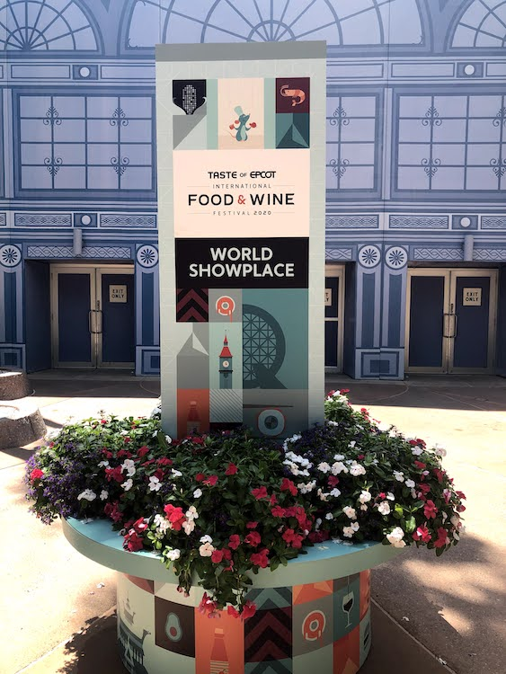 EPCOT Food and Wine Festival early 2020