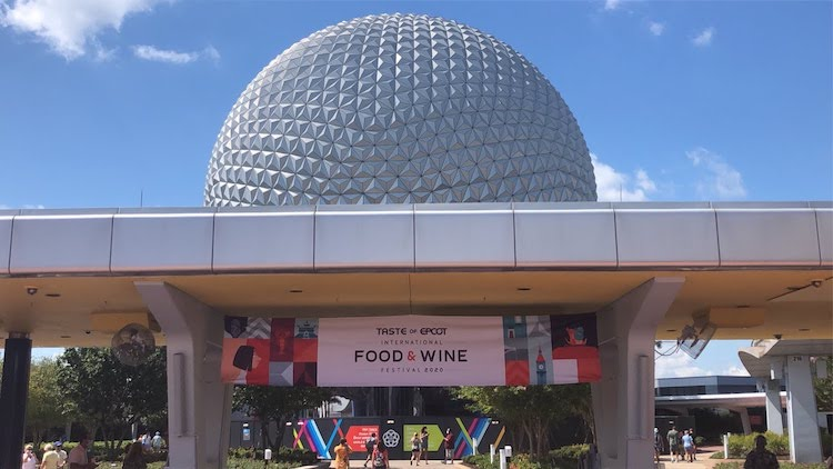 back at EPCOT Reopening spaceship earth