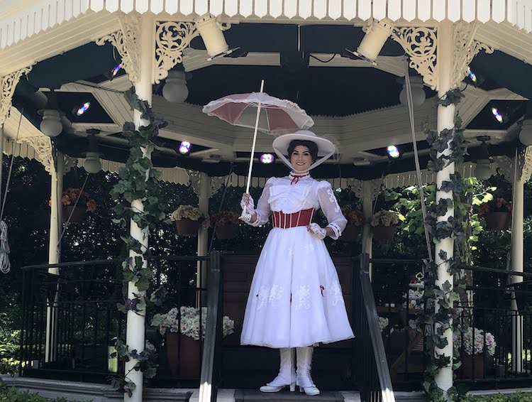 Mary Poppins at EPCOT
