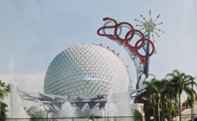 EPCOT Spaceship Earth Wand 2000