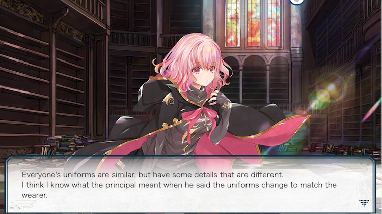 Codeillusion review other transfer students characters