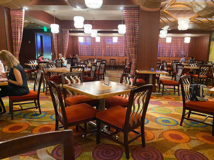 Inside The Wave with new dining procedures at Dinsey