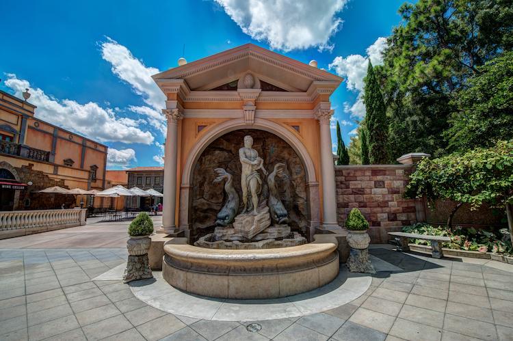 world showcase part 2 italy fountain