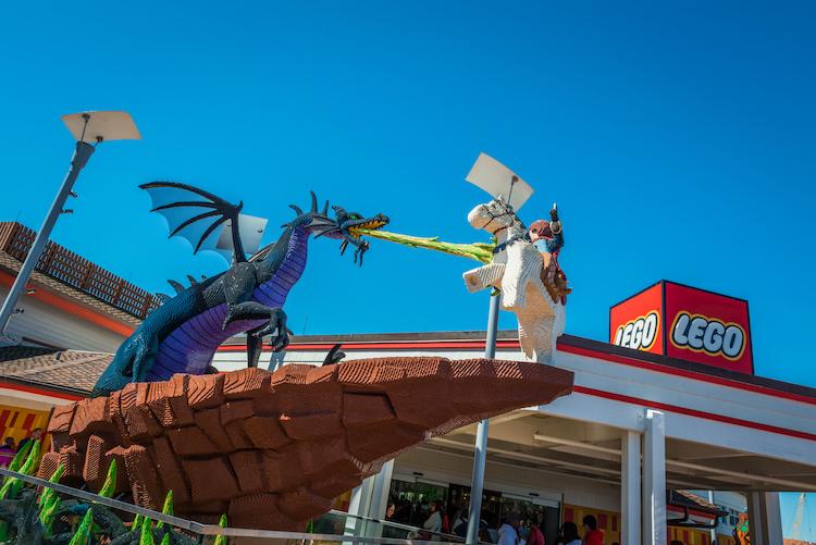 Lego Store in Disney Springs History