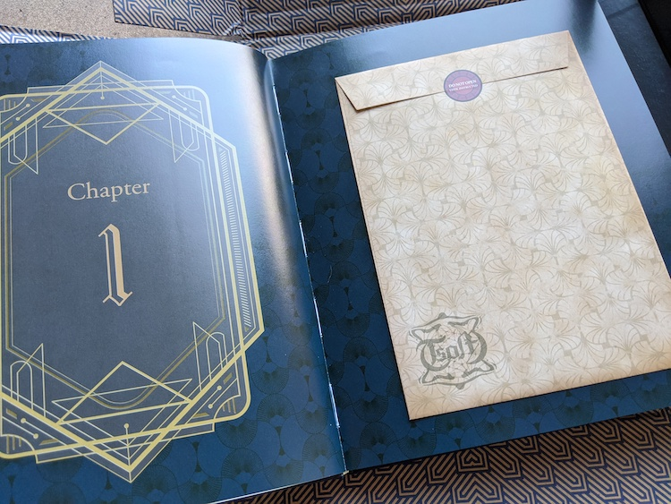 Pocket inside codeillusion book