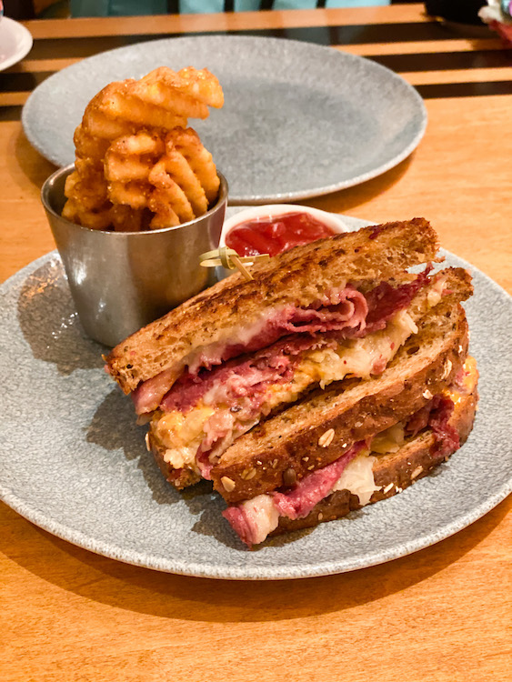 The Reuben at the wave