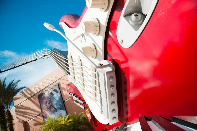 Rock n Roller Coaster giant guitar