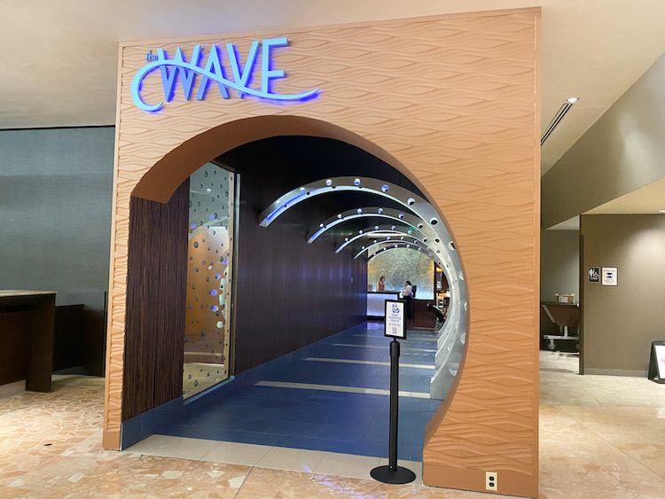 The Wave entrance at the contemporary