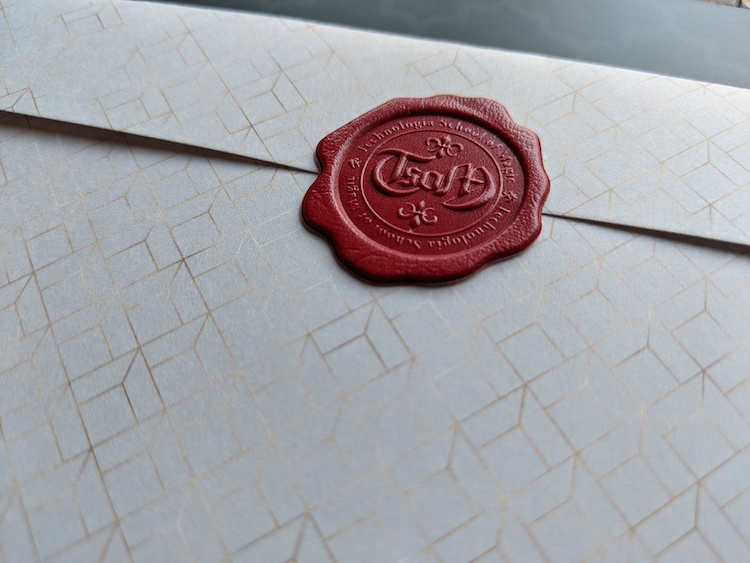 Wax Seal detail image in code book