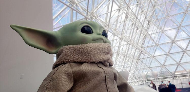 Baby Yoda Epcot Lounge