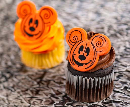 Disney World Halloween Cupcake