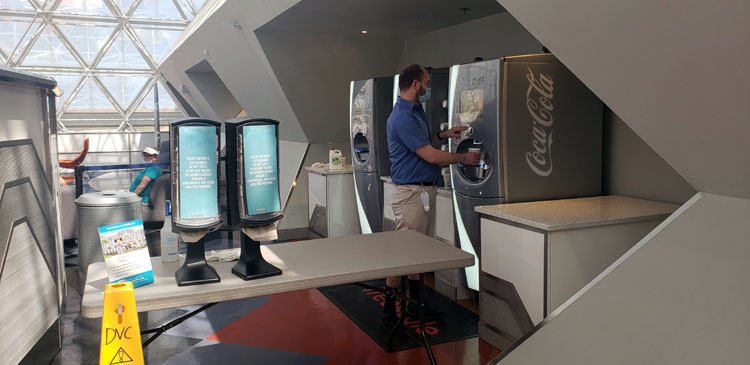 EPCOT DVC Lounge Open During Covid
