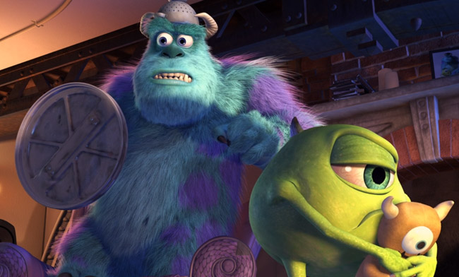Sully and Mike Wazowski Monsters Inc