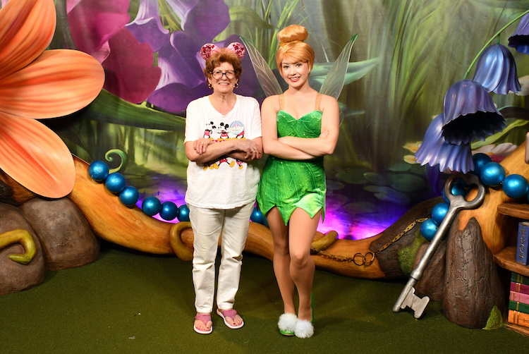 Tinkerbell at WDW