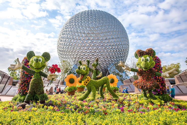 Epcot Flower and Garden Festival Magical Moments